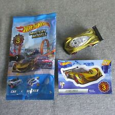 OPENED 2019 HOT WHEELS MYSTERY MODELS SERIES 3 HTF #2 MAZDA FURAI CONCEPT GOLD