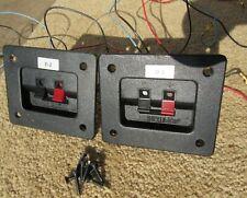 Pair of Cerwin Vega D-2 Crossovers Original Speaker Replacement Parts Working