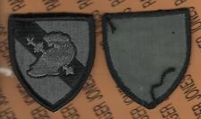 US Army Military Academy West Point USMA Cadre ACU patch m/e Black Border