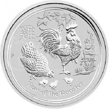 AUSTRALIE 30 Dollar Argent 1 Kilo Année du Coq 2017 1 kilo silver coin Rooster