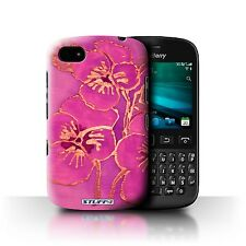 STUFF4 Phone Case for Blackberry Smartphone/Floral Silk Effect/Protective Cover