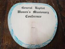 General Baptist Women's Missionary Conference Vintage Fan