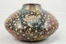 Ceramic/Pottery Jar/Vase Mexican Folk Art Fernando Solis Luna Color Wash/Decor