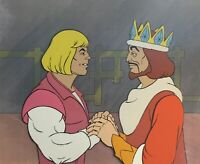 He-Man Masters of the Universe Animation Production Cels & Copy BG