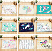"""Tree Frog and Butterfly 24x16/"""" Flannel Carpet Floor Non-slip Bath Mat Room Home"""
