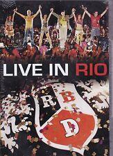 RBD Rebelde Live in Rio DVD New Nuevo Sealed