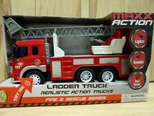 Maxx Action Ladder Truck Fire & Rescue Series (1/16 scale, Box Damaged)