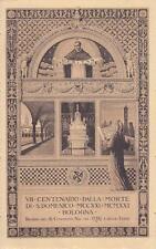 C2813) BOLOGNA, 1921, VII CENTENARIO DELLA MORTE DI SAN DOMENICO. VIAGGIATA.