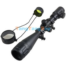 Red Green Mil-dot Illuminated Optics Hunting Scope Sight 6-24x50 for Air Rifle