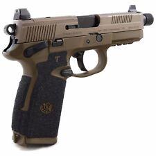 Talon Grips for FNH FNX-45/FNP-45 Small Backstrap Black Rubber Texture 052R