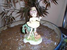 vintage josef originals figurine w. doe lovely!