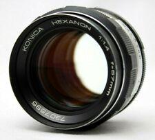 Konica Hexanon 1:1.4 57mm Lens *As Is* #ah20c