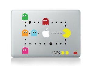 "🍎 Pacman MacBook sticker decal for Apple laptop MacBook Air Pro 13"" inch"