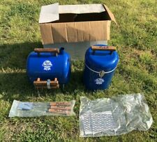 Vintage Pabst Blue Ribbon Beer Grill and Cooler very rare new in box Bar Mancave