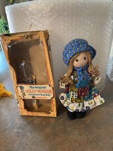 "Vintage Knickerbocker Original Holly Hobbie's Friend Amy Rag Doll 9""/ Box"