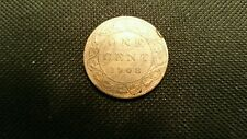 1908  Canadian Large Cent  Great Toning w/mint luster. Fantastic Type Coin
