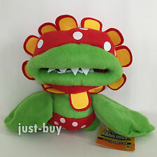 "New Super Mario Sunshine Plush Petey Piranha Soft Toy Stuffed Animal Doll 7"""