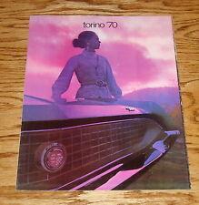 Original 1970 Ford Torino Sales Brochure 70 Cobra Fairlane
