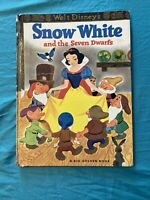 SNOW WHITE AND THE SEVEN DWARFS - BIG GOLDEN BOOK - 1966 18th printing