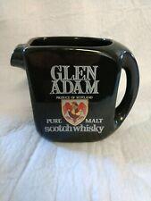 Glen Adam Scotch Whisky Pitcher Pub Jug advertising Collectible