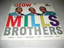 GLOW WITH THE MILLS BROTHERS LP VG+ Decca DL8827 1959