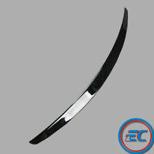 Rear Trunk Boot Painted Black Wing Lip Spoiler Stylish For AUDI A4 B8 B8.5 09-16
