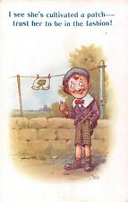 POSTCARD  COMIC   BAMFORTH    Knickers  Clothes  Line