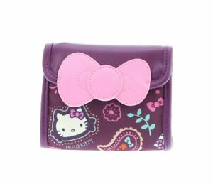 Hello Kitty Wallet Trifold: Paisley Sanrio Gifts for her