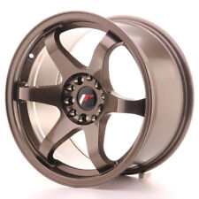 "Un Cerchio in Lega Japan Racing JR3 17"" x 9"" ET 30 5 x 114.3 / 120 Bronzo Bronze"