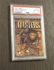 1997 Topps Finest TRACY MCGRADY #316 RC Rare Gold Graded Rookie Card PSA 8