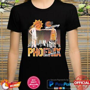 Phoenix Mercury Phoenix Booker vs Diana Taurasi signatures shirt
