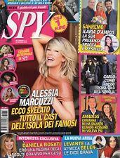 Spy 2018 3.Alessia Marcuzzi,Claudia Galanti,Gwyneth Paltrow,Demi Moore,Arisa
