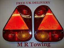 Radex 2900 5 function Rear Combination Trailer Lights Free  P&P
