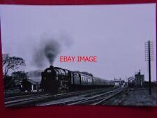 PHOTO  LMS ROYAL SCOT NO 46166 LONDON RIFLE BRIGADE  AT PRESTATYN 17/5/64