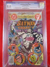 DC Detective Comics #482 CGC 8.0 2-3/79 Batman Family Buckner & Giordano Cover