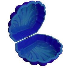 Sand & Wasser Wassermuschel 2-tlg Sandkasten Sandmuschel Planschbecken blau