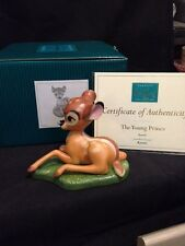 Disney Bambi #1228663 from 2004' The Young Prince Collectors Society Nib Retired