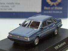 BOS VW Santana, hellblau metallic, 1982 - 87486 - 1:87