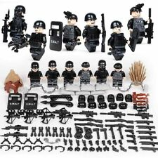 Minifiguren SWAT Spezialkräfte, LEGO® kompatibel, NEU