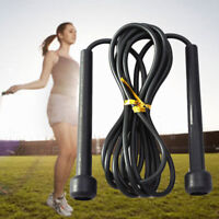 Exercise Boxing Skipping Jump Rope Adjustable Bearing Speed Fitness Weighted