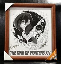 King of Fighters Signed Original Art Kusanagi Kyo Yagami Iori SNK Neo Geo AES