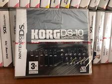 KORG DS-10 SYNTHESIZER Nintendo DS NDS Nuevo Precintado Pal España