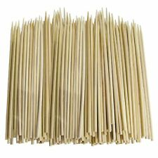 """Bamboo Skewers Wooden BBQ Sticks for Shish Grill Kabobs 10"""",12"""""""