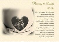 MUMMY & DADDY TO BE GIFT- Personalised Scan Photo Gift ***YOUR SCAN PRINTED***