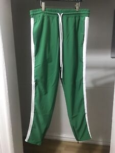 Mens stripped track pants (fear of god inspired) size small