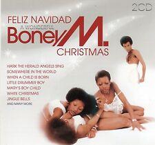 "Boney M ""A Wonderfull Christmas"" Schlager Weihnachten  2CD's NEW  FREE SHIPPING"