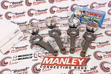 Wiseco Forged Piston Kit Manley Connecting Rods ARP Bolts AEMx2 Mitsubishi EVO 8