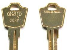 (2) Sentry Safe Keys Pre-CUT To Your Code I Code (I)