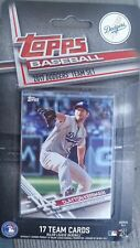 2017 Topps Los Angeles Dodgers Limited Edition 17 Card Set World Series Team
