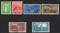 Norway Set of Stamps c1941 Used (few faults) (7079)
